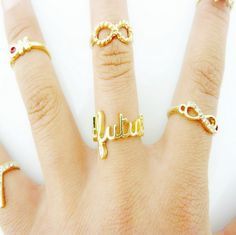 Bocideal New Fashion Sexy Design Nette Eye Bowknot Crown Strass Joint Ringe Fashion Rings, Fashion Jewelry, Korean Jewelry, Knuckle Rings, Trendy Jewelry, Necklace Lengths, Jewelery, Crown, Eye