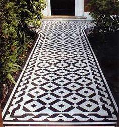 Victorian Tiles Victorian Border / Inset Tiles