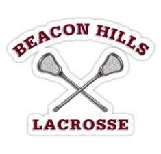 """""""Beacon Hills Lacrosse Stilinski Stickers by SportsT-Shirts Teen Wolf Lacrosse, Beacon Hills Lacrosse, Stilinski 24, Cute Stickers, Mac Stickers, Jeep Stickers, Scrapbook Stickers, Coloring Book Pages, Blue Aesthetic"""