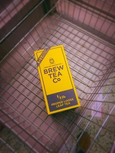 The only thing you need in your basket! Happy brew time The Tea Witch | Brew Tea Company