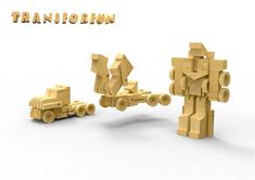 hello, Wonderful - WOOBOT WOODEN ROBOT TOYS TRANSFORM FOR INTERACTIVE PLAY
