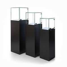 Pedestal Display Case For Museums, Stores & Offices Subastral
