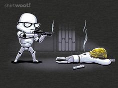 Faster, Higher, Stronger, Aimier. What would have happened in Star Wars if Storm Troopers could aim!