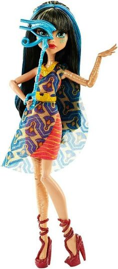 Coming Soon: Welcome to Monster High, Dance The Fright Away Cleo Doll - Summer 2016!