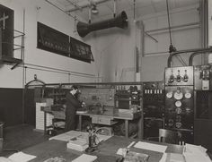 'E.H.T., H.T. test bench', 1926. IET Archives NAEST 211/02/05/13 B.2841