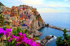 Man Made - Manarola  - Cinque Terre - La Spezia - Italian Riviera - Liguria - Italy Wallpaper
