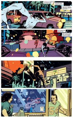 Deadly Class illustrated by Wes Craig and Lee Loughridge