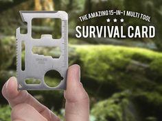 Survival Card – Multiverktyg