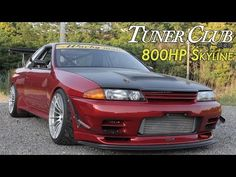 800HP Time Attack Nissan Skyline GT-R(R32) Wacky Mate - Tuner Club Eps.5 - YouTube