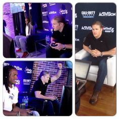 RB Jamaal Charles of the Kansas City Chiefs  and LB Clay Matthews are playing Call of Duty: Ghost. A celebrity grudge match to help celebrate the release of Call of Duty: Ghost Onslaught
