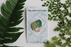 Monstera lapel pin for all the crazy plant parents out there! I love monstera deliciosa so much! The Urban Botanist Terrarium Workshop, Build A Terrarium, Monstera Deliciosa, Lapel Pins, House Plants, Plant Leaves, Parents, Urban, Fun
