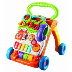 VTech Sit-to-Stand Learning Walker - Tricycles, Scooters & Wagons #Kid #Kids #Toy #Toys #Christmas #Holiday #Holidays #Wish #Wishlist #Child #Children #Tricycles #Scooters #Wagons #Rides #Gift #Gifts #Present #Presents #Idea #Ideas $29.81