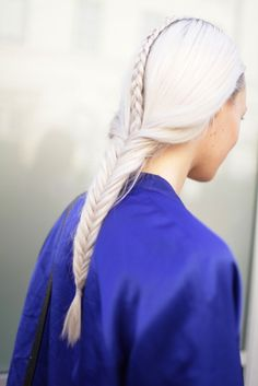 Very Game of Thrones inspiration, love the fishtail braid...