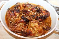 Reteta culinara Aripioare de pui cu susan la slow cooker Crock-Pot 4,7 L Digital din categoria Slow Cooker. Specific Japonia. Cum sa faci Aripioare de pui cu susan la slow cooker Crock-Pot 4,7 L Digital Tzatziki, Crockpot, Slow Cooker, Curry, Chicken, Meat, Food, Curries, Essen