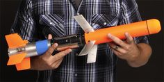 """The Navy is developing a five-pound, mini-munition that it's calling """"the world's smallest guided missile. Military Weapons, Weapons Guns, Guns And Ammo, Tactical Survival, Tactical Gear, Electric Jet Engine, Rocket Design, Tactical Equipment, Futuristic Cars"""