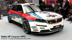 Sheriff Design added a new photo. Move Car, Custom Metal Fabrication, Martini Racing, Lancia Delta, Fiat Abarth, Rally Car, Ferrari 458, Courses, Custom Cars