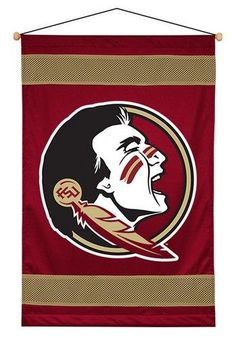 "FSU Florida State wall hanging banner. This Seminoles banner measures 29.5"""" x…"
