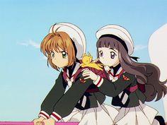Cardcaptor Sakura Episode 28 | CLAMP | Madhouse / Kinomoto Sakura, Keroberos (Kero-chan), and Daidouji Tomoyo