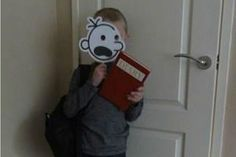 Diary of a Wimpy Kid costume - 100 World Book Day costume ideas - Netmums World Book Day Outfits, World Book Day Ideas, World Book Day Costumes, Kids Book Character Costumes, Children's Book Characters, Kids Costumes Boys, Boy Halloween Costumes, Roald Dahl Costumes, The Magic Faraway Tree
