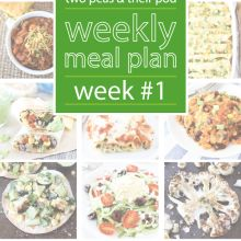 Weekly Meal Plans | Two Peas & Their Pod - Part 3