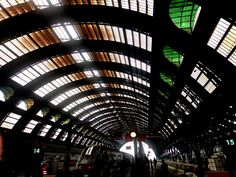 Utilitarian beauty. Centrale Station. Milano.