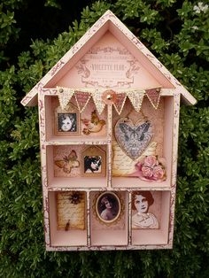 shadow box is your memory..... decorate it as you like....anything is possible....
