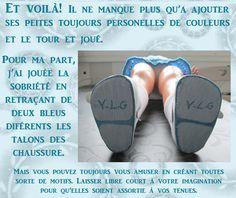 coucou, ça vous dit un tuto très facile pour fabriquer des chaussures de poupée?…