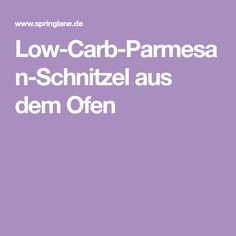 Low-Carb-Parmesan-Schnitzel aus dem Ofen