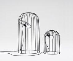 Think Black Lines (Lamp) by Oki Sato 佐藤オオキ