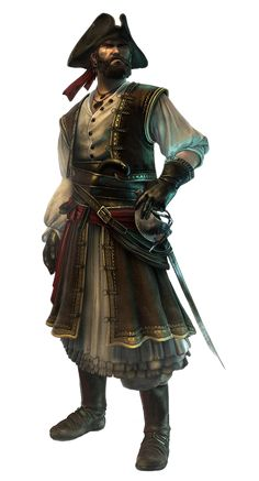 Jeu Vidéo :  Assassin's Creed : Revelations / Blaise Legros - The Privateer / http://www.creativeuncut.com/gallery-19/acr-blaise-legros-privateer.html