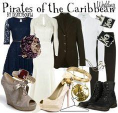 Pirates of the Caribbean Wedding