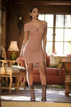 Jenna Dress - Mauve | Fashion Nova