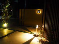 和の落ち着き エクステリア&ガーデン ZAT 富山県S様邸 Spectacular garden lighting by lighting professionals. Enjoy a dramatic, romantic, even mysterious scene comparing to a day time.