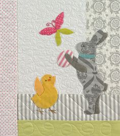"""Close up, """"Chick Jubilee"""" by Anne Sutton at Bunny Hill Designs"""