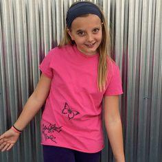 Kids Organic Cotton Short Sleeve T Shirt by TeresKidsShop on Etsy