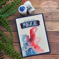 Sue Vine | MissPinksCraftSpot | Stampin' Up!® Australia Order Online 24/7 | Magical Day | Myths & Magic | #magicalday #mythsandmagic #handmadecard #rubberstamp #stampinup #misspinkscraftspot #suevine