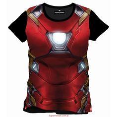 Koszulka Iron Man - zbroja Civil War