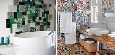 cocinas con azulejos multicolores - Buscar con Google