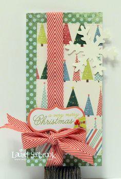 Cute Christmas card by Laurel Seabrook