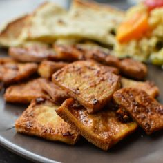 Caramelized Ginger Tofu