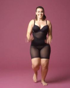 No matter how you move (or dance!), Honeylove sculptwear is guaranteed to never roll down. With targeted compression and booty-boosting panels, it's size-inclusive, moisture-wicking and eco-friendly. Experience the world's most effective shapewear! Curvy Girl Fashion, Look Fashion, Plus Size Fashion, Mode Outfits, Fashion Outfits, Womens Fashion, Zumba, Athleisure, Tattoos For Women On Thigh