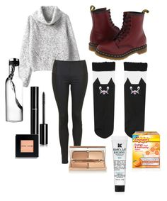 """What to wear when You're Sick"" by mack-et-la-mode ❤ liked on Polyvore featuring Mode, Topshop, Dr. Martens, Accessorize, Chanel, Kiehl's, Charlotte Tilbury und Bobbi Brown Cosmetics"