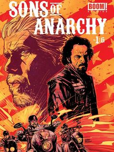 Sons of Anarchy six-issue comic book series debuts on Wednesday September 11th.