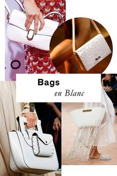 The optic white purses that reigned on the Spring runways are going to require a lot of love to stay in tip-top shape—but for high-impact arm candy like this, it's well worth it.