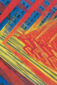Luigi Russolo, 1911, The Revolt. Gemeentemuseum Den Haag.