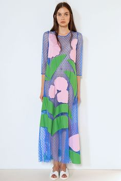 Tata Naka Spring/Summer2015 Read to Wear - love the large scale collaged print