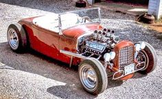 """""""Beauty"""" An authentic mid build. A 1931 roadster powered by an Olds rocket & on a Z'd 32 frame. Classic Hot Rod, Classic Cars, Traditional Hot Rod, Hot Rod Trucks, Street Rods, The Good Old Days, Hot Cars, Custom Cars, Hot Wheels"""