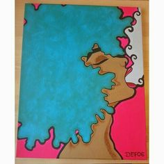 painting ideas Rock - My Site Cute Canvas Paintings, Small Canvas Art, Easy Canvas Painting, Mini Canvas Art, Hippie Painting, Black Art Painting, Trippy Painting, Painting & Drawing, Dope Kunst