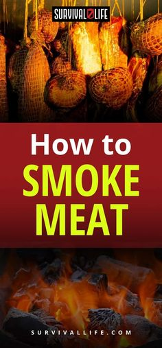 How To Smoke Meat | Posted by: SurvivalofthePrepped.com #Preppersurvival