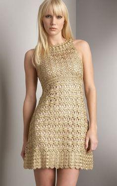 vestidos tejidos a crochet - Buscar con Google